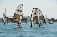 "Hayling Island ""Round the Island 2011"" windsurfing race."